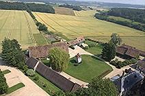 Vue aérienne des Granges de Bourgoult